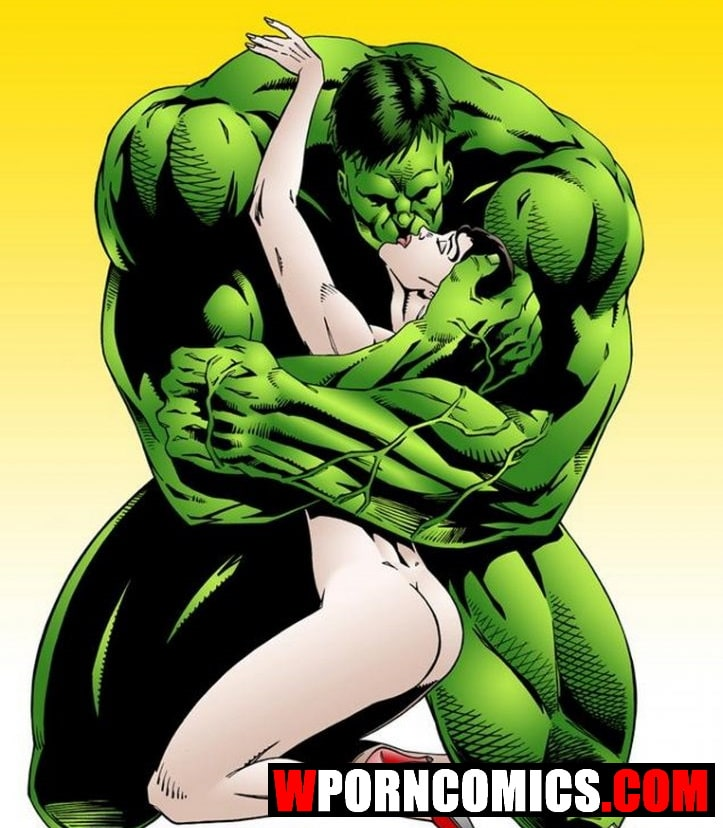 Porn comic Wonder Woman vs Incredibly Horny Hulk.