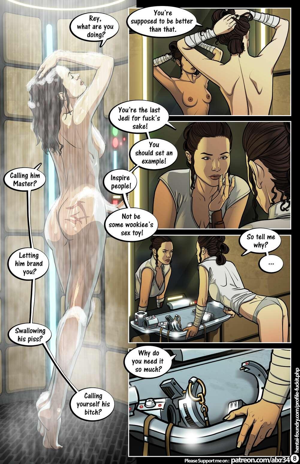 Star wars porno comic