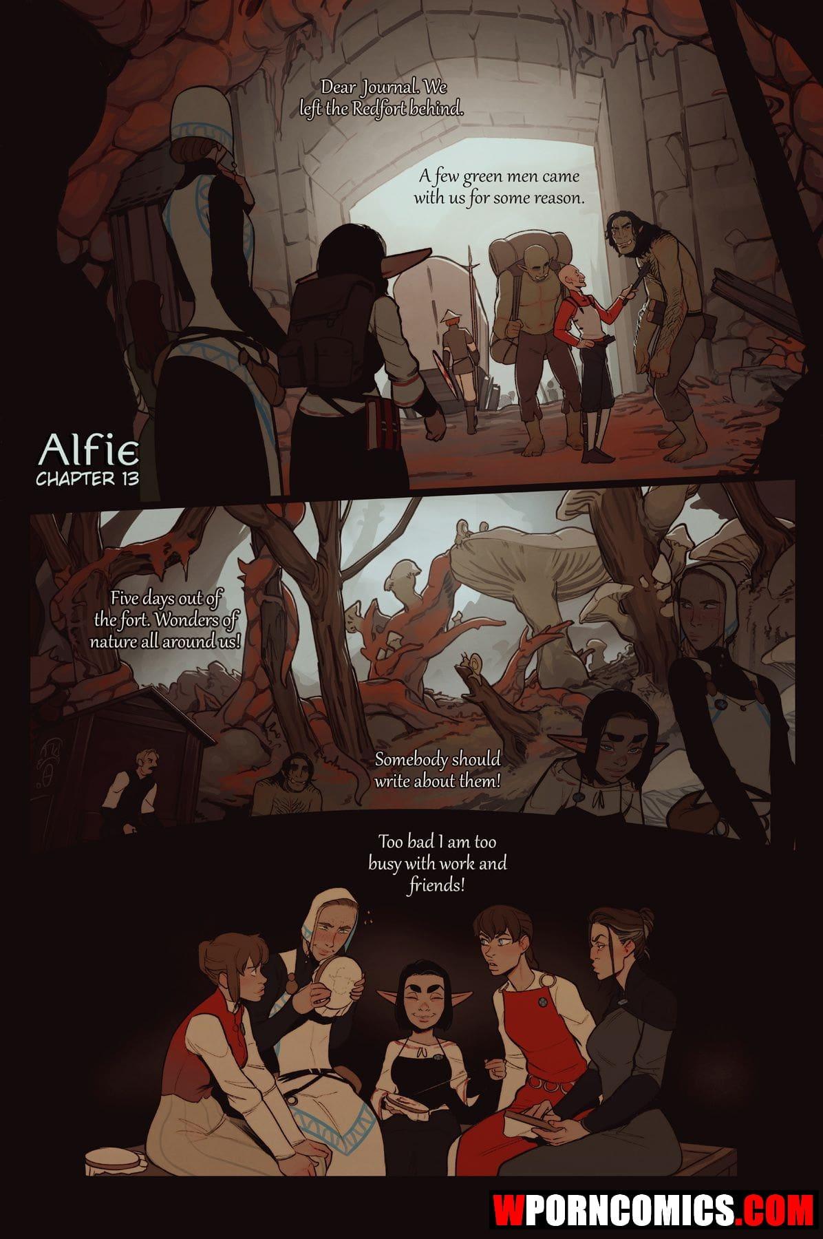 Porn comic Alfie. Part 13.