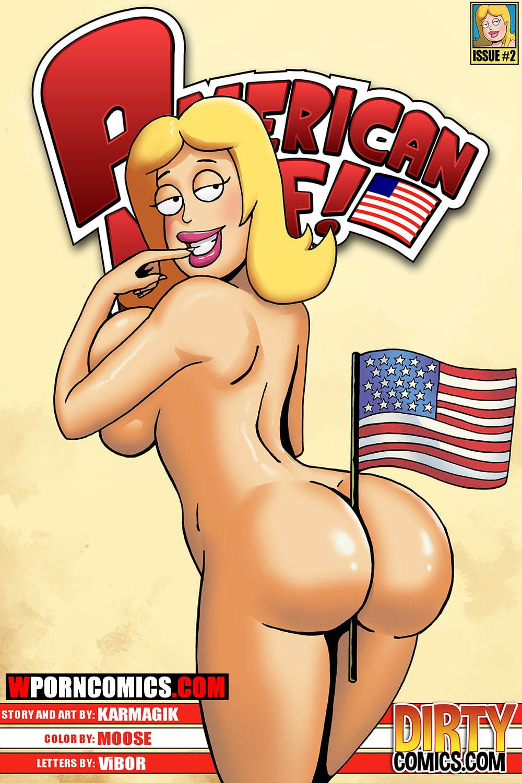 Porn comic American MILF. Part 2.