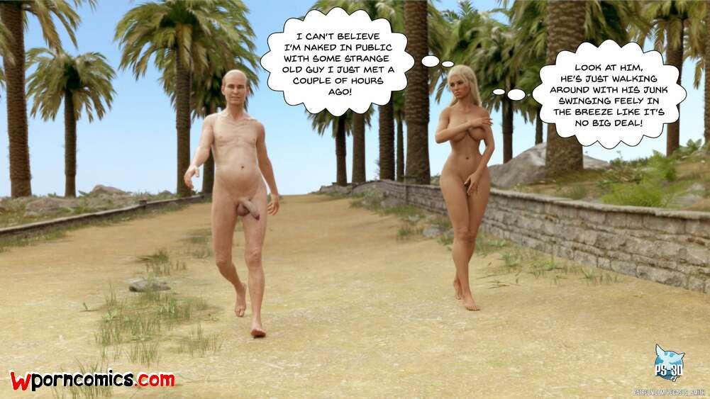 Nude comics