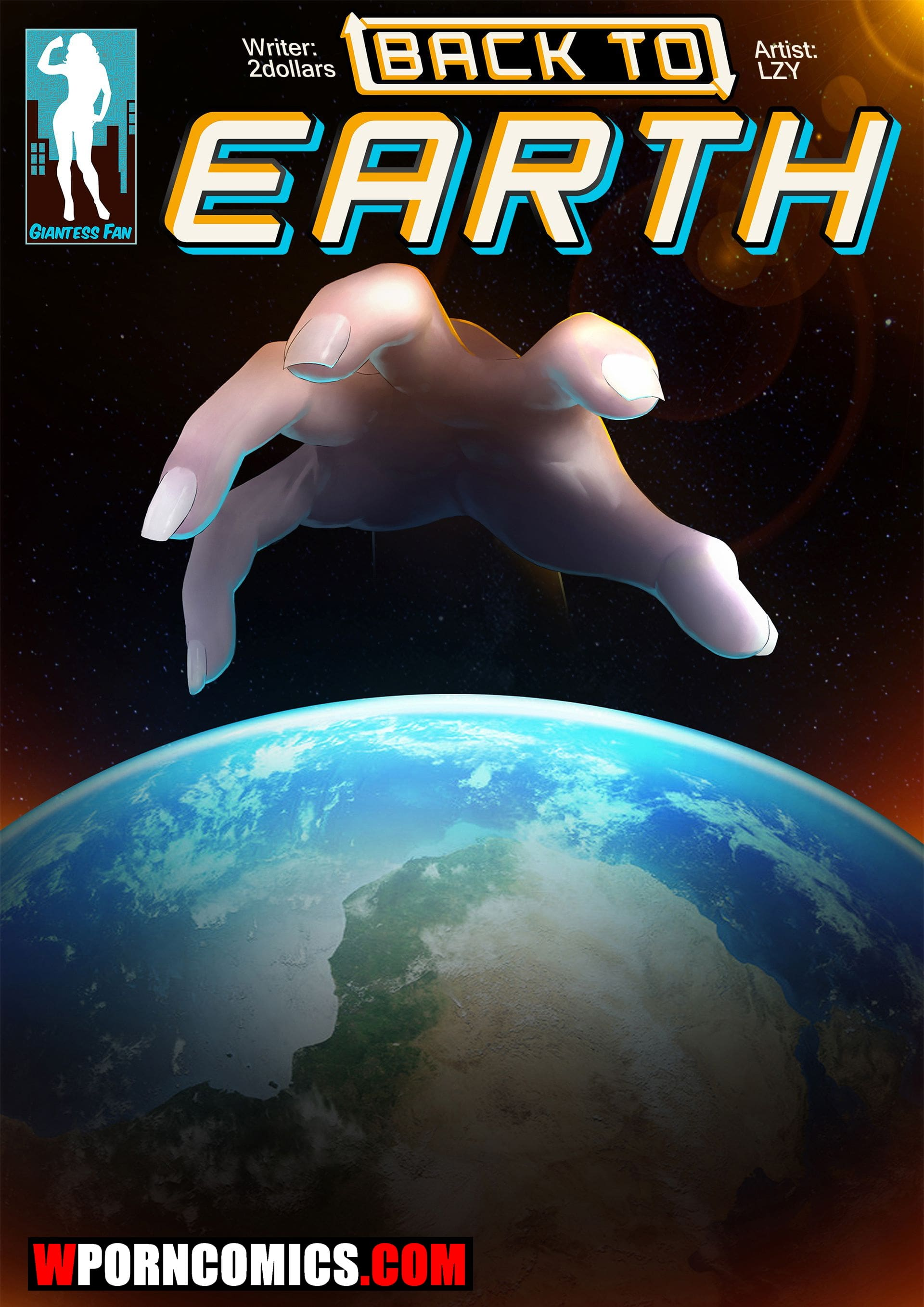 Porn comic Back To Earth.