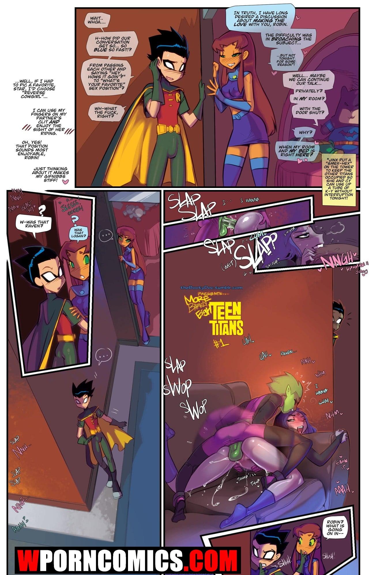 Porn comic Barely Eigh Teen Titans.