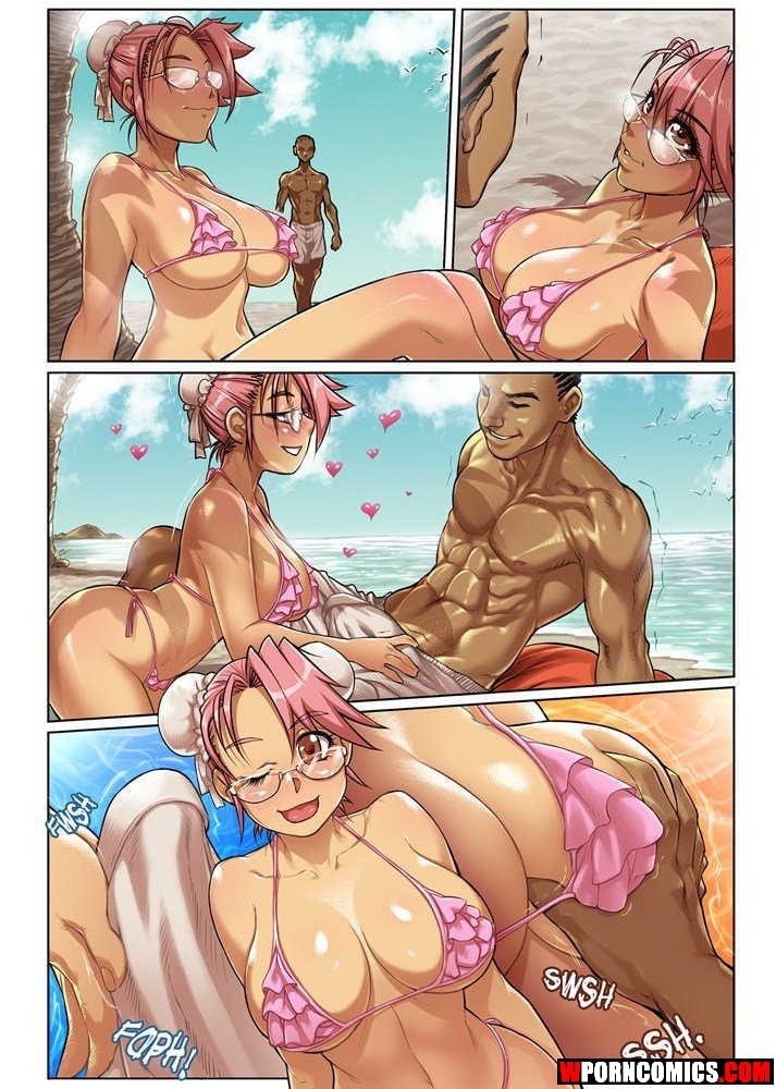 Porn comic Beach.