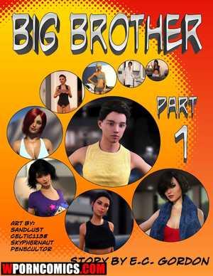 Porn comic Big Brother. Part 1.