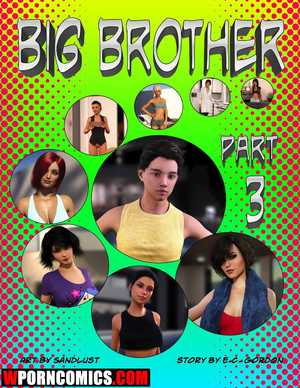 Porn comic Big Brother. Part 3.