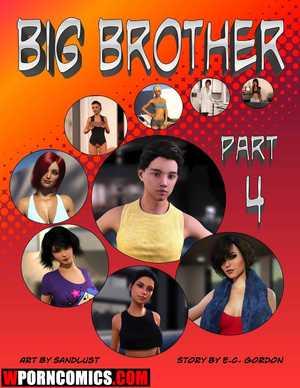 Porn comic Big Brother. Part 4.