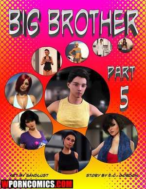 Porn comic Big Brother. Part 5.