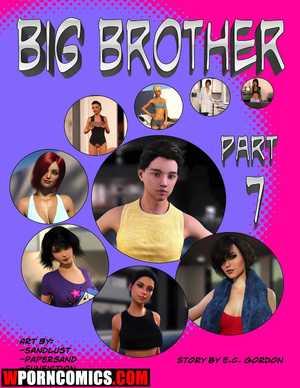 Porn comic Big Brother. Part 7.