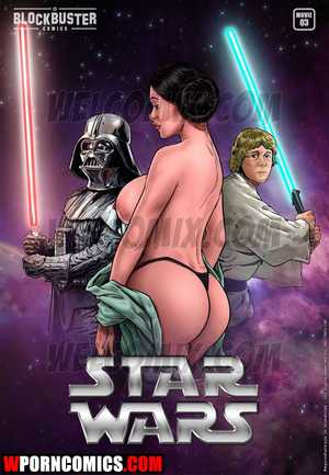 Porn comic Blockbuster. Part 3. Star Wars.
