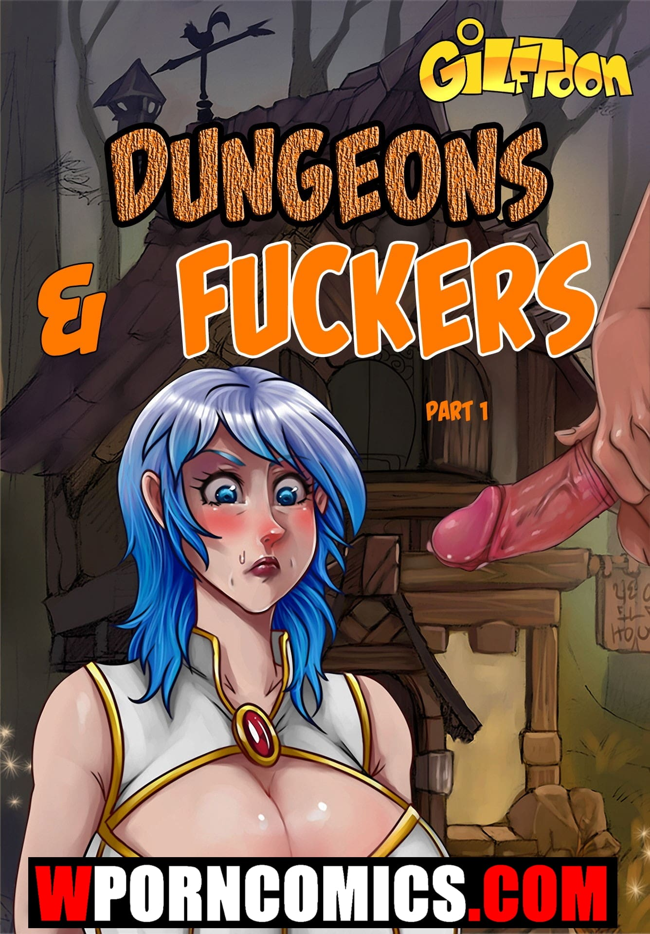 Porn comic Dungeons and fuckers. Part 1.