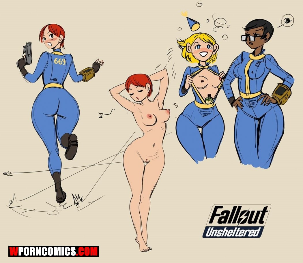 Porn comic Fallout Unsheltered.