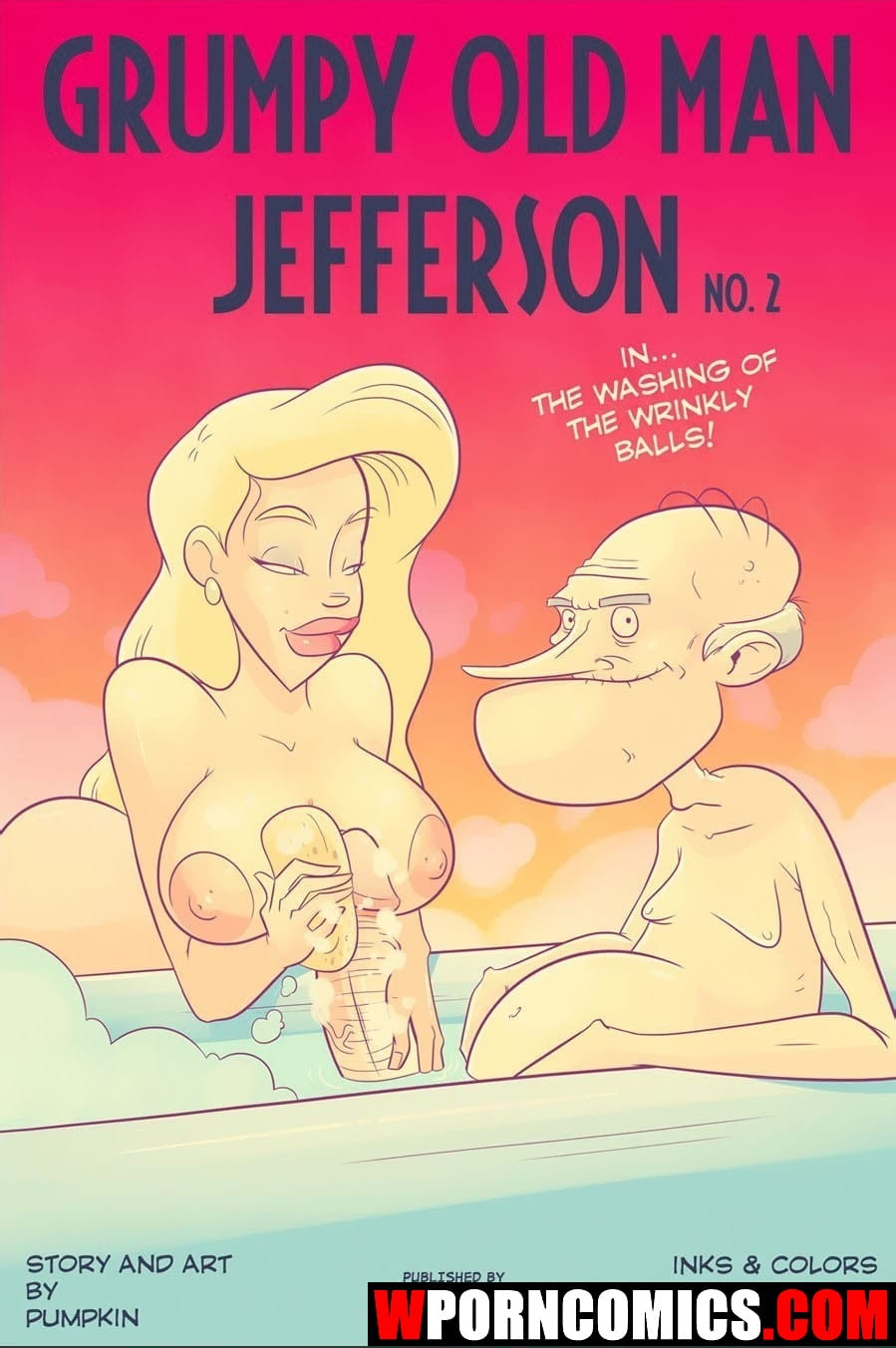 Porn comic Grumpy old man Jefferson. Part 2.