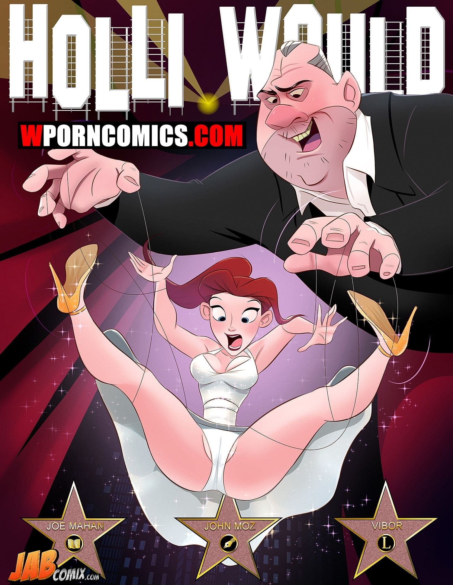 Porn comic Holli Would.