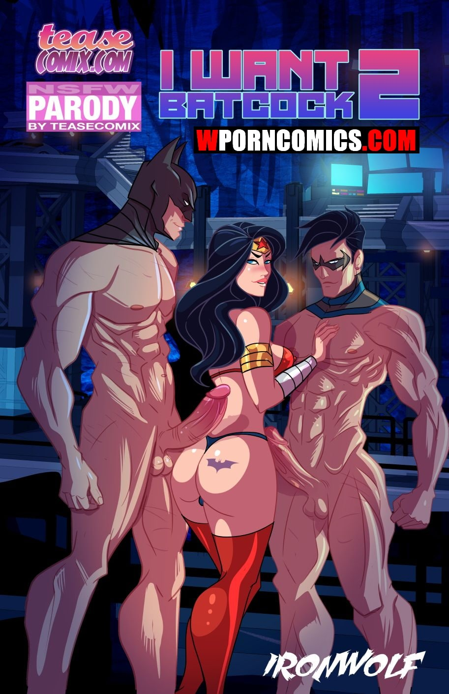 Porn comic I Want Batcock. Part 2.