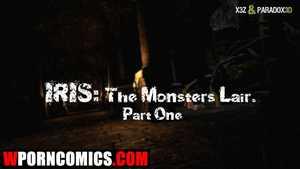 Porn comic Iris. The Monsters Lair. Part 1.