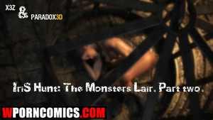 Porn comic Iris. The Monsters Lair. Part 3.
