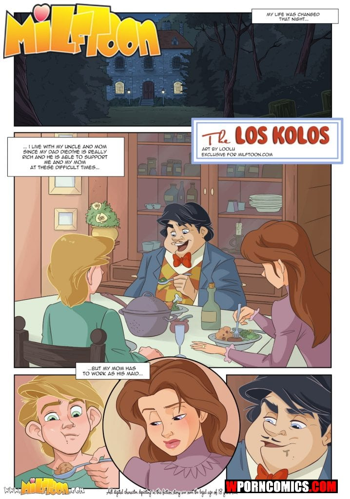 Porn comic Los Kolos.
