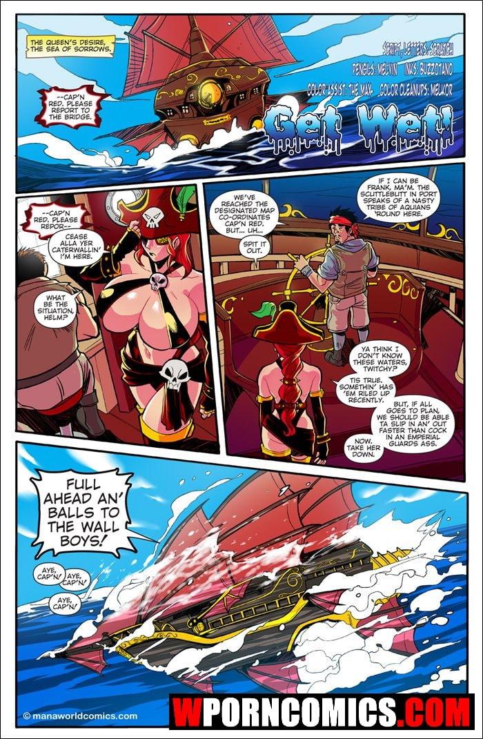 Porn comic ManaWorld. Part 9. Get Wet.