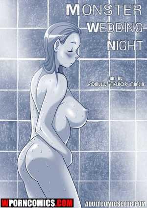 Porn comic Monster Wedding Night.