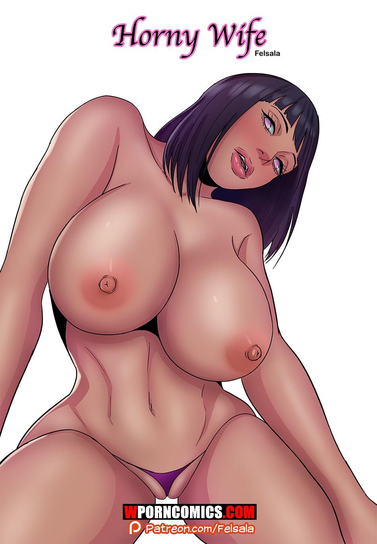 Porn comic Naruto. Horny Wife.