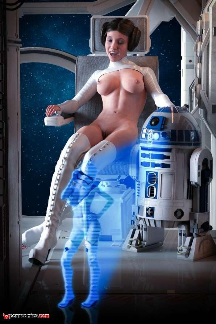 Organa hentai leia Princess Leia