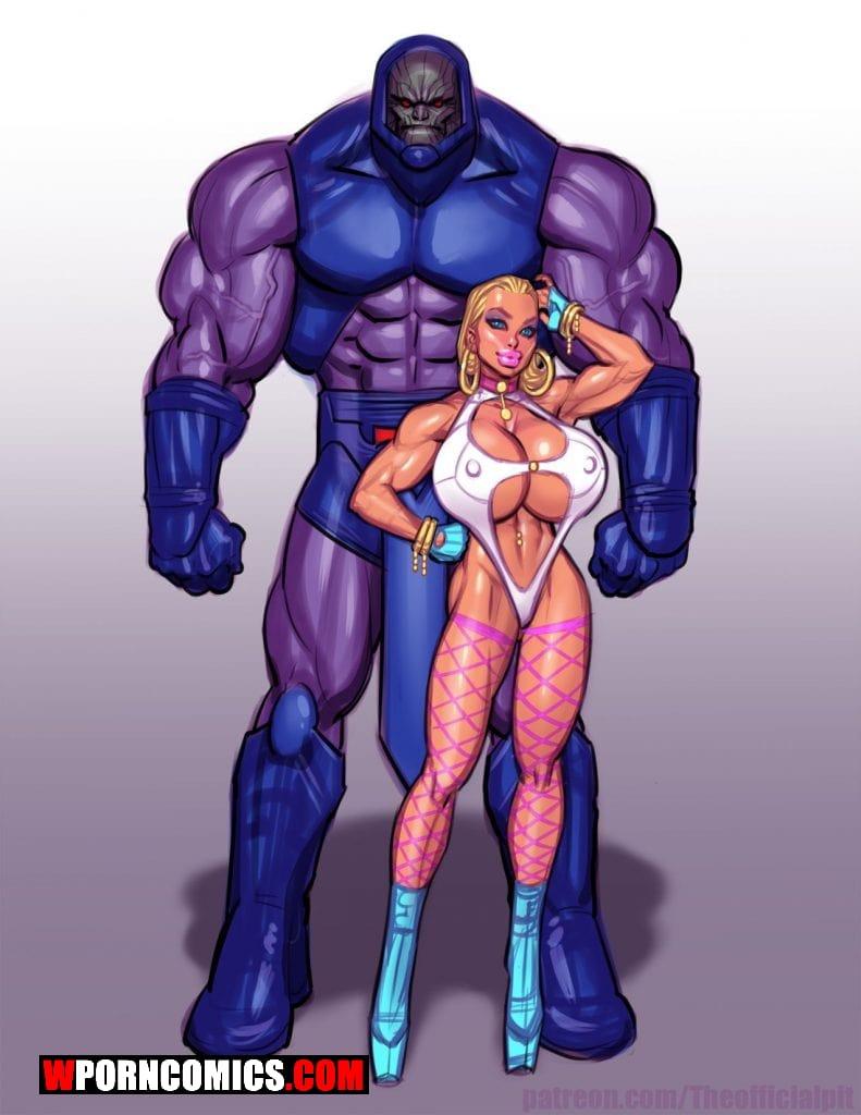 Porn comic Power Girl vs Darkseid.