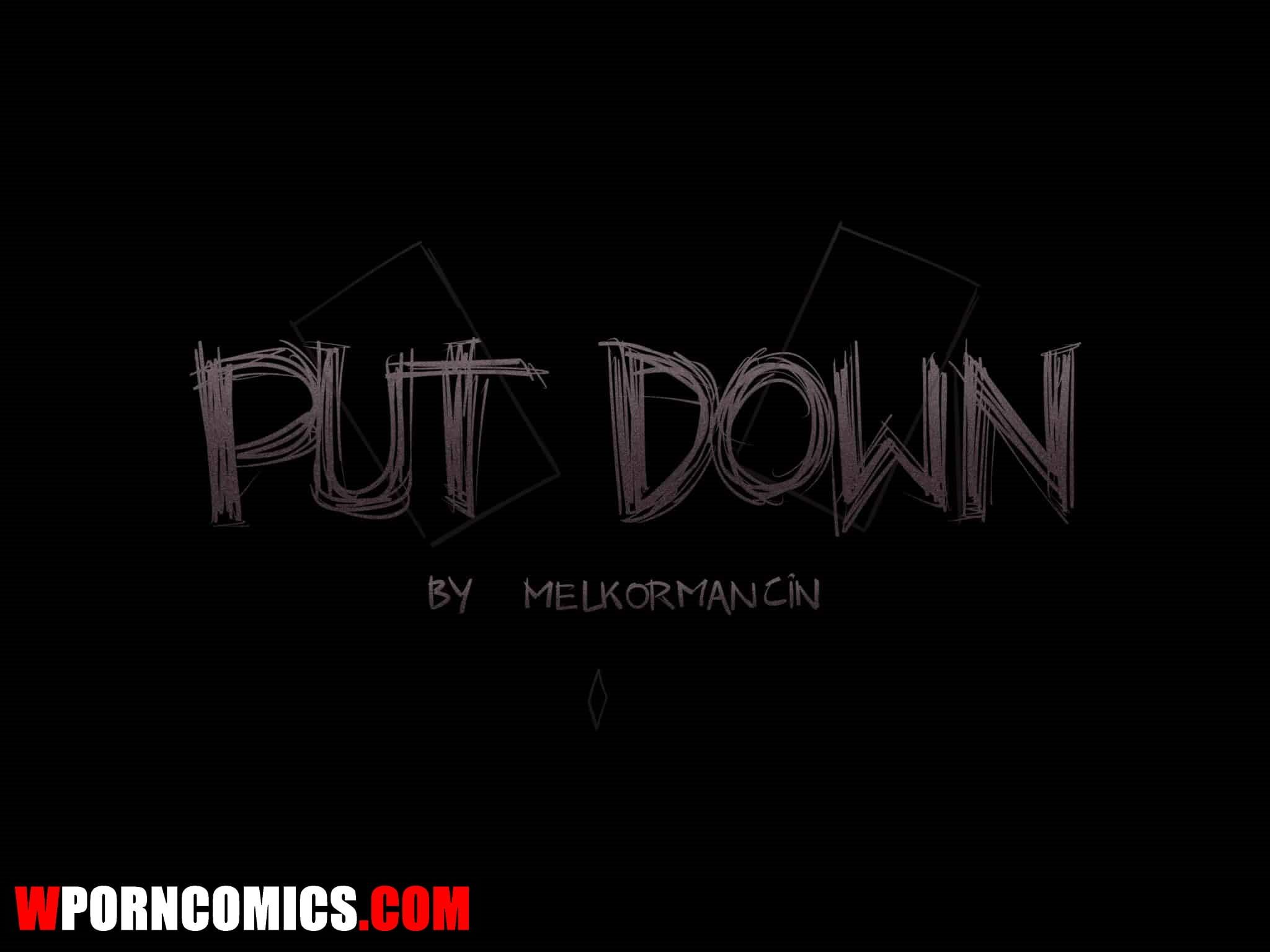 Porn comic Put Down.