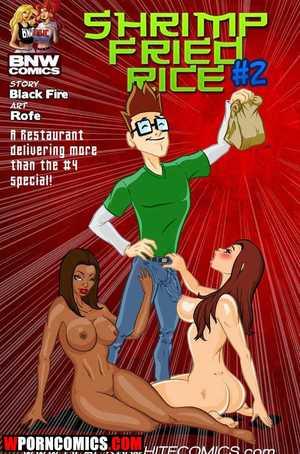 Porn comic Shrimp Fried Rice. Part 2.