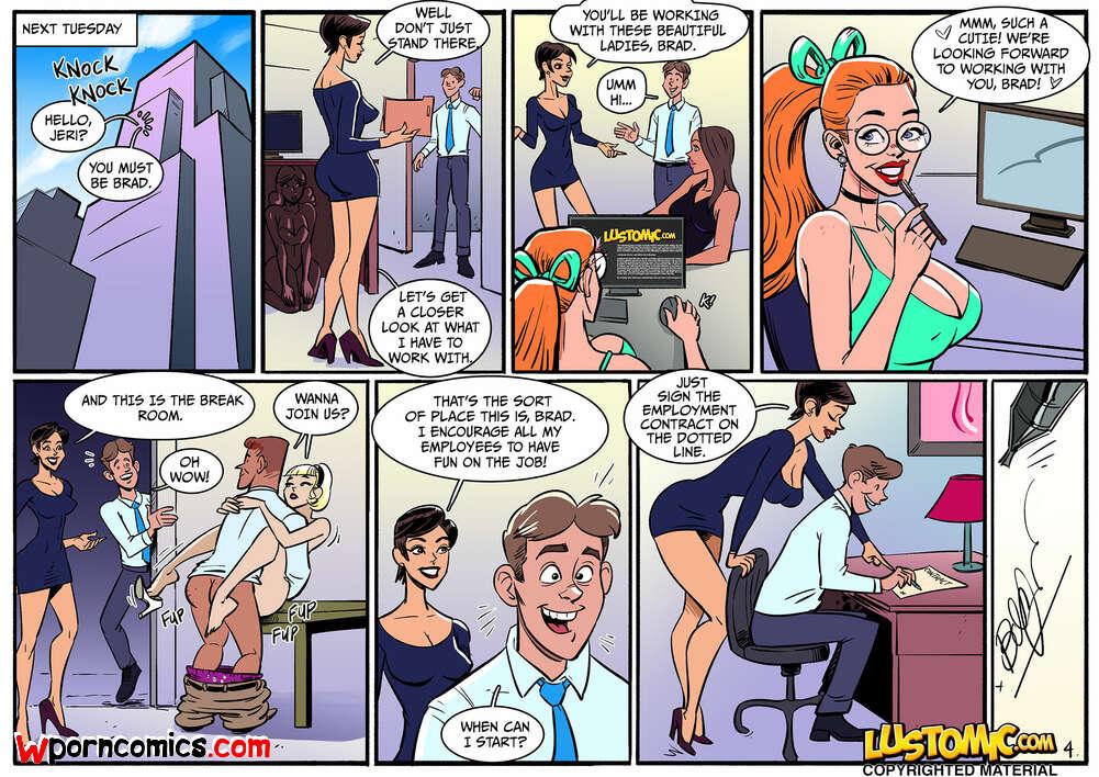Cartoon Sissy Porn Comic