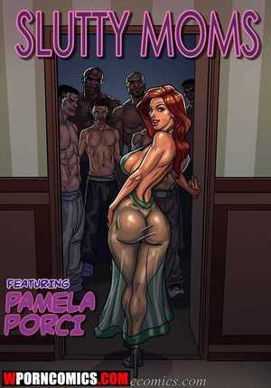Porn comic Slutty Moms.