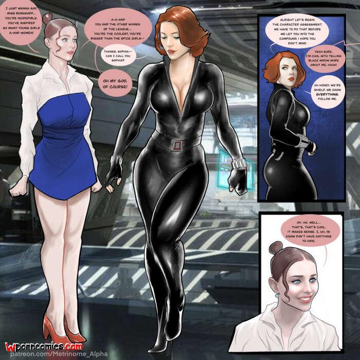 Comic widow porn Avengers XXX