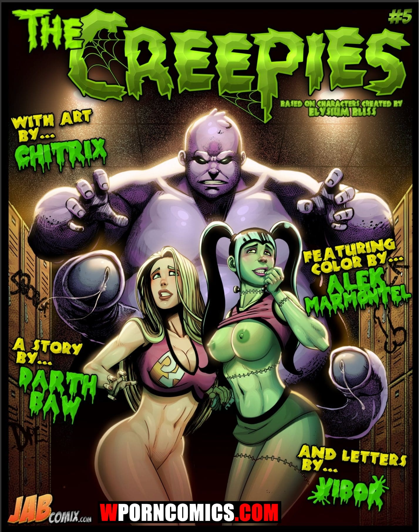 Porn comic The Creepies. Part 5.