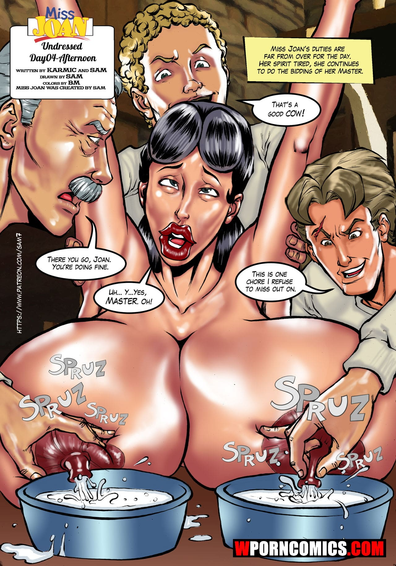 Porn comic Undressed Day 4.