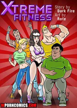 Porn comic Xtreme Fitness. Part 1.