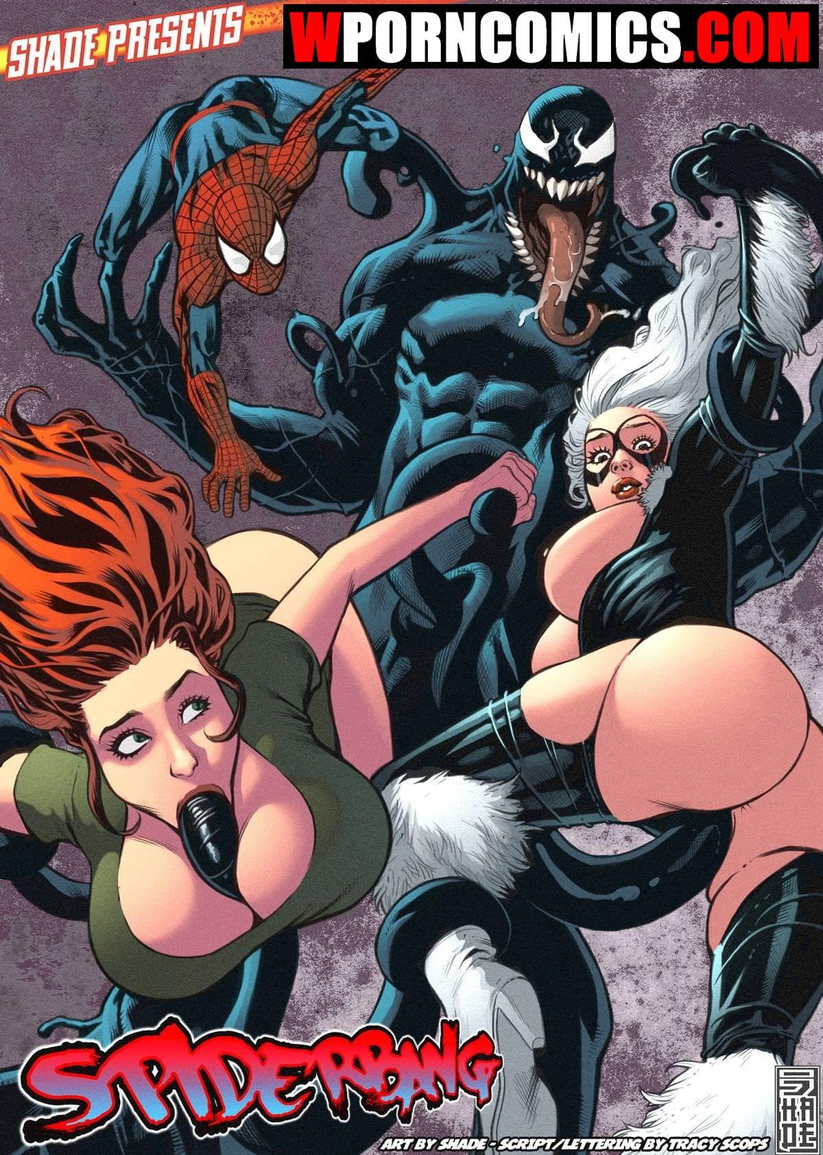 Porn comics Spiderbang.